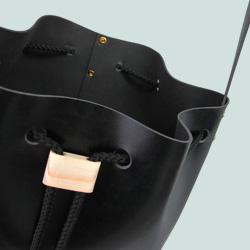 Drawstring wooden Bag